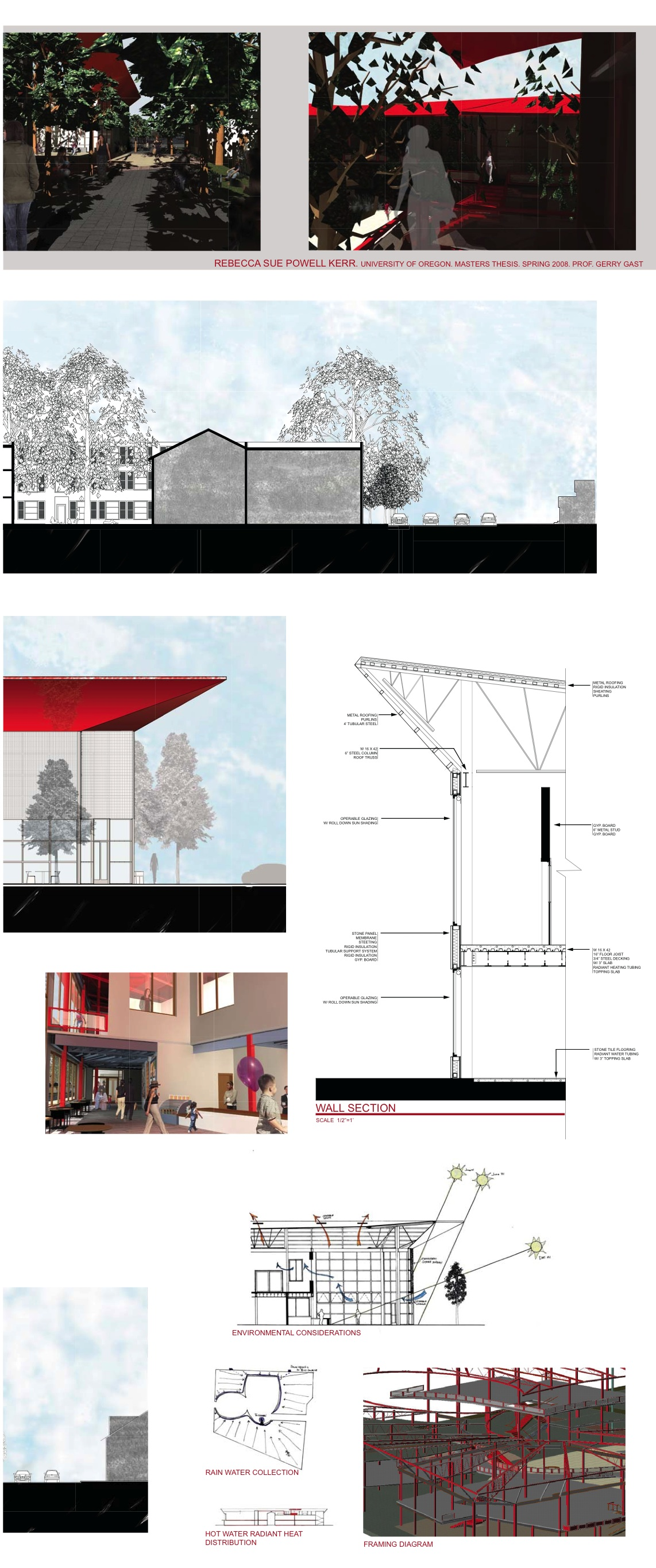 UO Portland Architecture Student Archives